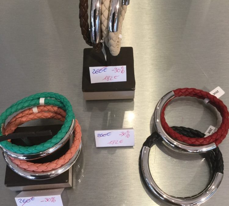 CHRISTOFLE -30% bracelets Duo Complices